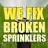 Sprinkler Repair By Lawn Pros