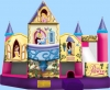 Disney princess inflatable spacewalk combo from www.bouncingoffthewallsbr.com