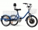 EV-T2 Electric Tricycle - 17 mph & 20 miles, 4 batteries with 450 watt motor