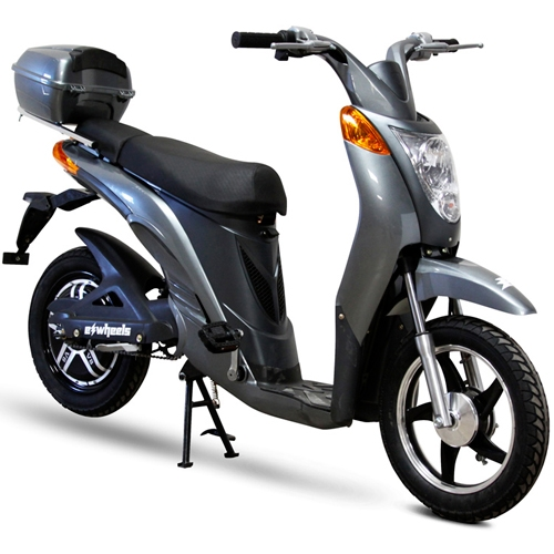 Photo 600 watt electric moped bike no license required for Is a bicycle considered a motor vehicle