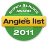 A + rating on angies list for 2 straight years