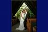 Formal bride & groom in california