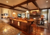 Kitchen with touch screen