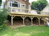 Pressure treated deck southbury ct