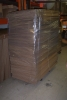 Pallet load of custom boxes made and shipped via freight