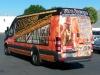 Fire escape vehicle wrap on sprinter van