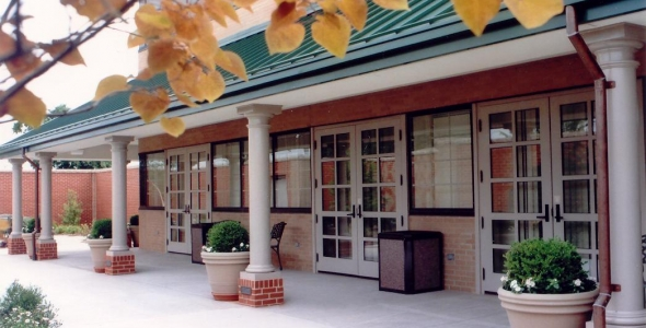 The John and Betty Charlier Hospice Center is a beautiful inpatient facility located in the VNA Plus building in Evansville, Indiana that feels like home...not a hospital.