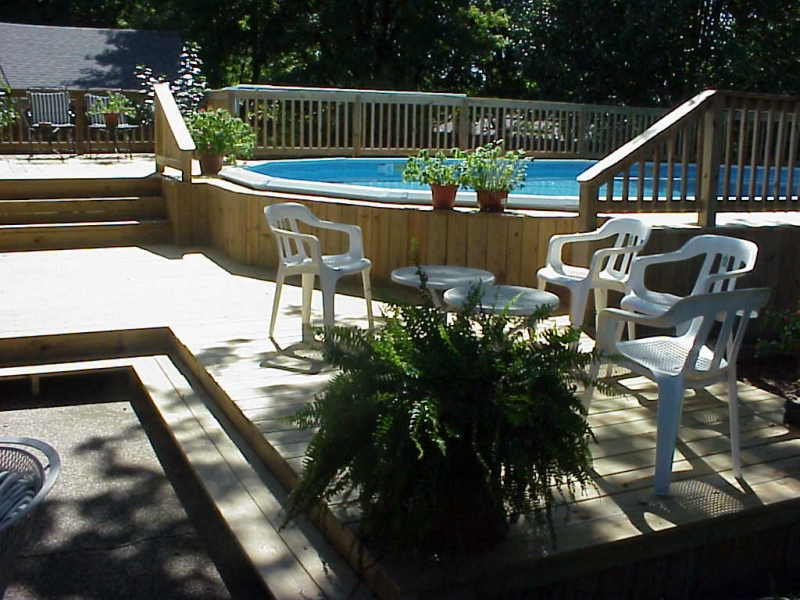 Phoenix builders of tulsa broken arrow oklahoma for Above ground pool decks tulsa