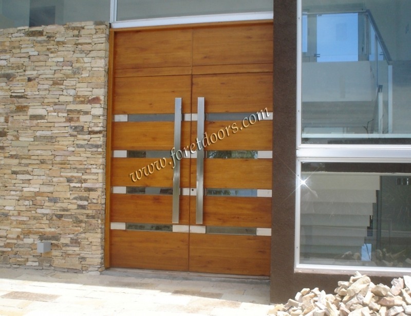 Foret doors port saint lucie florida for Contemporary front doors