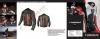 Furious spencer vintage-cruiser motorbike leather jacket