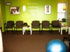 Our reception area is warm and inviting, though you never have to wait for long.
