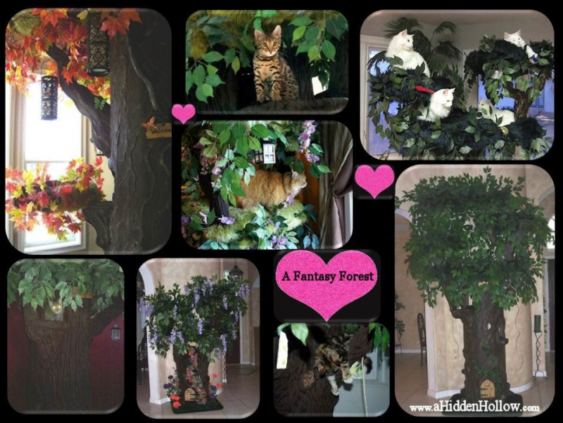 A fantasy forest winter springs florida for Design your own cat tree