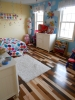 Wow - stained maple flooring