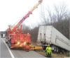 Heavy truck towing i-81 md