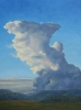 Afternoon storm   24 x 18 oil on canvas by l. martin pavletich