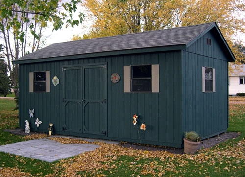 Pre built storage sheds south dakota for Pre built sheds