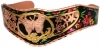 Butterfly jewelry bracelet handmade in colorful artwork by copper reflections
