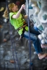 Kids and beginner adults enjoy rock climbing on our 28 foot wall!