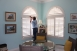 Horizontal Arch Plantation Shutters in Vero Beach, fl 772-872-6805