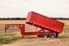 The donahue grain trailer