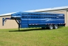 Our donahue stock trailer in blue.