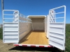 Another view of our donahue ranch hand trailer.