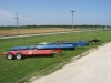 Our donahue lay flat implement trailers.