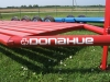 Another view of our donahue lay flat implement trailer.