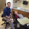 Dr. pouya momtaz with his dental implants patient at aces dental flagstaff