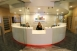 Reception area at Anchorage Midtown Dental Center