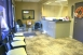 Waiting area and front desk at Center of Modern Dentisty Rancho Cucamonga, CA 91730
