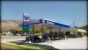 Chevron gas station on 2089 s harrison blvd located 0.6 miles to the north of ogden periodontal care center torghele dentistry