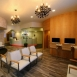Waiting lounge at cosmetic dentistry office Anchorage Midtown Dental Center
