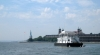 """The """"willy wall"""" (for short) - this is the main clubhouse anchored just north of ellis island."""