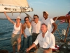 Captain & crew - shearwater yacht, hudson river, nyc