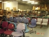 Chairs in warehouse