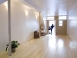 The upstairs yoga studio