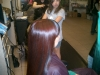 Pinwheel color placement with foils