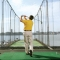 Take a swing and enjoy the beautiful view at the golf club.