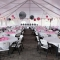 Inside the event center tent that can host all of your party needs!