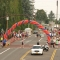 Balloon arch for race
