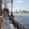 Jennie in battery park...