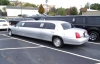 Silver super stretch limousines from 6 to 14 passengers