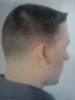 Men's short taper cut