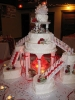 Wedding reception cake
