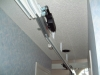 Cieling switch, to change track,