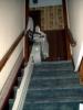 Stair lift left hand mount