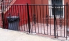Customized decorative perimeter fence