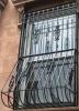 Customized decorative bowed window guard
