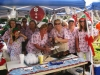 Witham hospital nurses at battle of the bbq fundraiser 2009